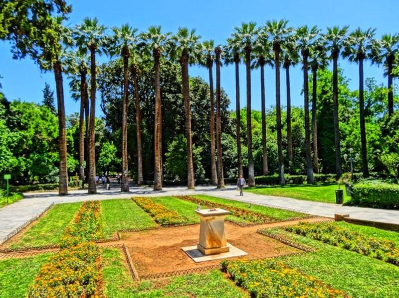 O que fazer no bairro de Syntagma em Atenas: Jardim Nacional em Atenas