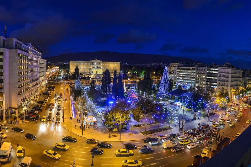 O que fazer à noite no bairro de Syntagma em Atenas