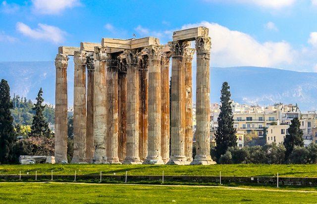 Templo de Zeus Olímpico em Atenas