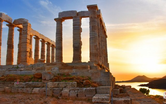 Templo de Poseidon em Atenas