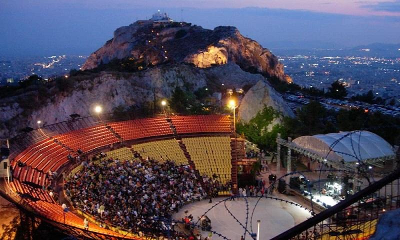 Teatro do Monte Licabeto em Atenas